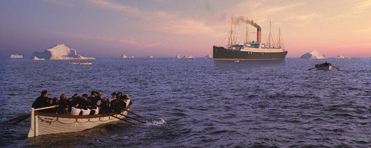 matte painting - titanic