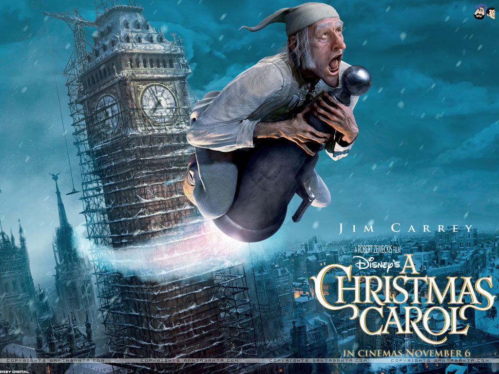 A christmmas carol, animated christmas movie