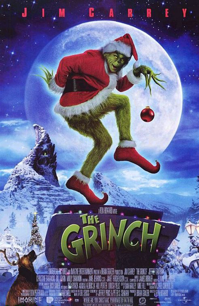 The grinch who stole christmas, animated christmas movies