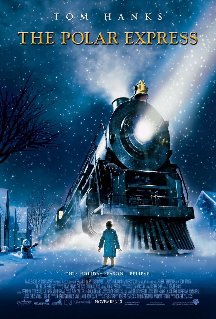 The polar express, animated christmas movies
