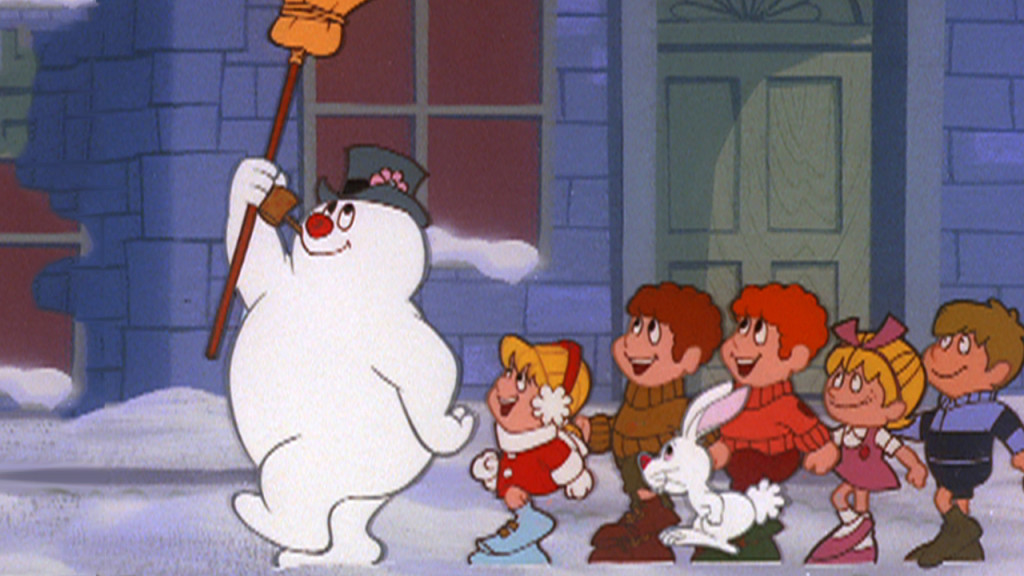 frosty the snowman, animated christmas movie