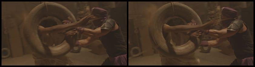 stunts, wirework, visual effects, Baji