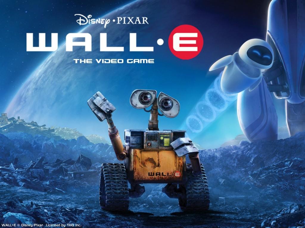 Wall E, animated movie
