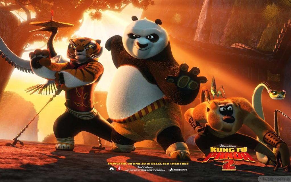 Kung fu panda, animated movie