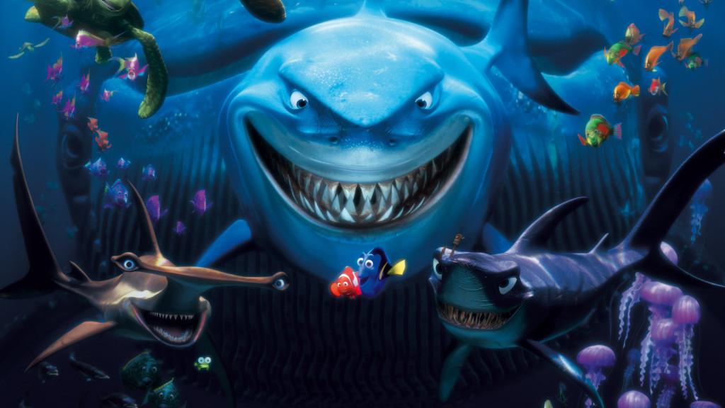 Finding nemo, animated movie