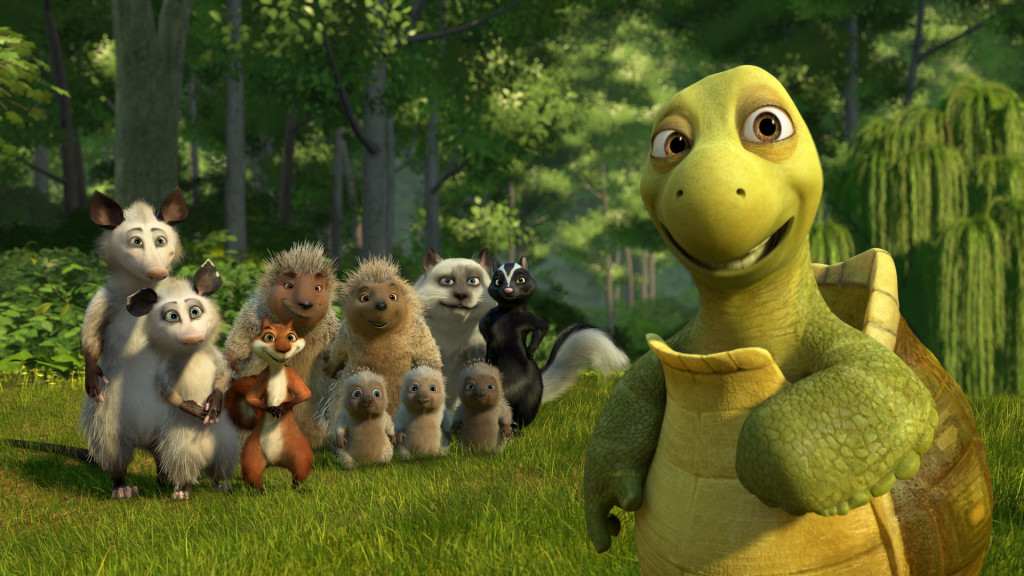 Over the hedge, animated movie