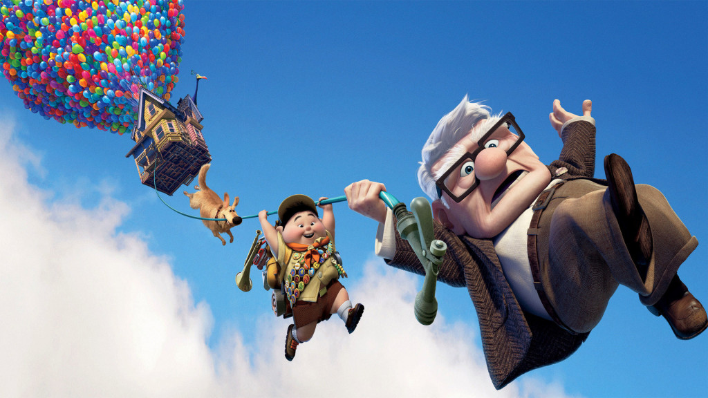 Up, animated movie