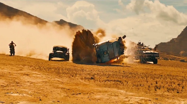 Visual effects in mad max