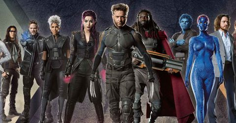 Unveiled- Photo Released of X-Men Apocalypse Characters