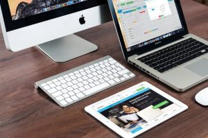 visual marketing - content on multiple devices