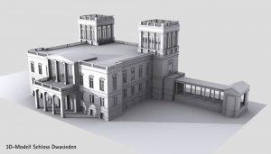 Schloss Dwasieden 3D Model