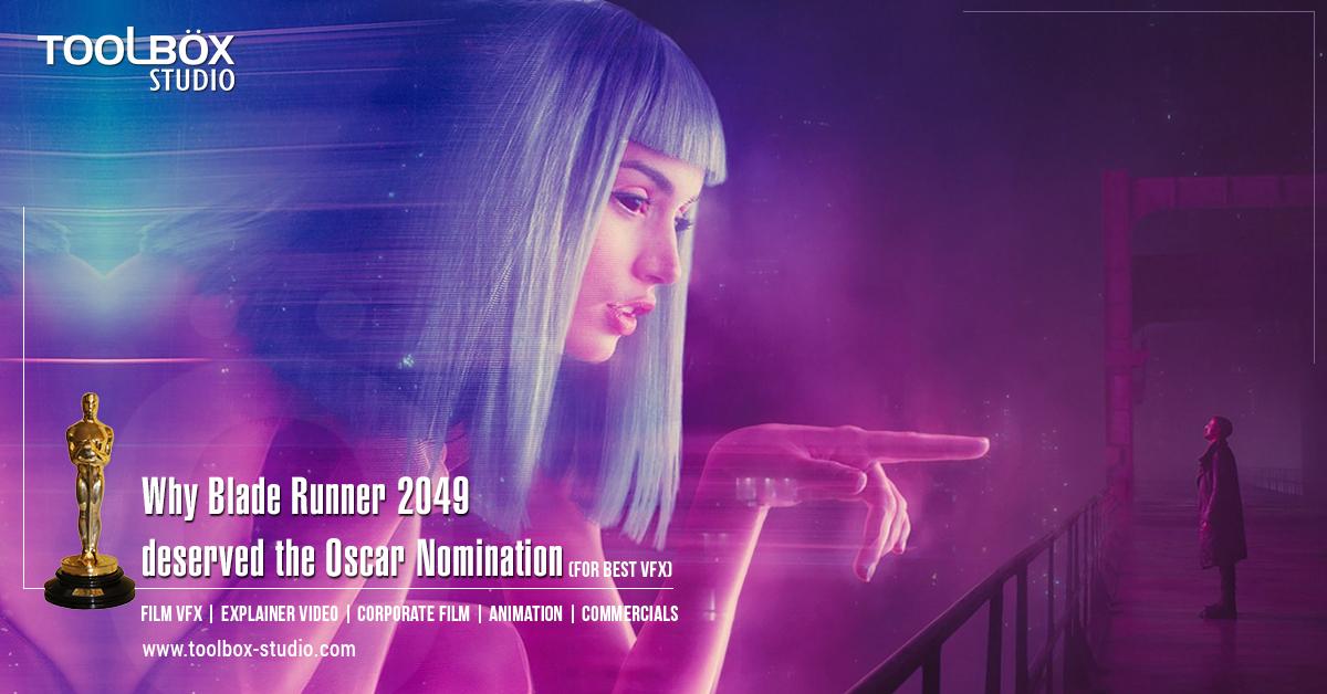 Oscar Nomination - Blade Runner 2049