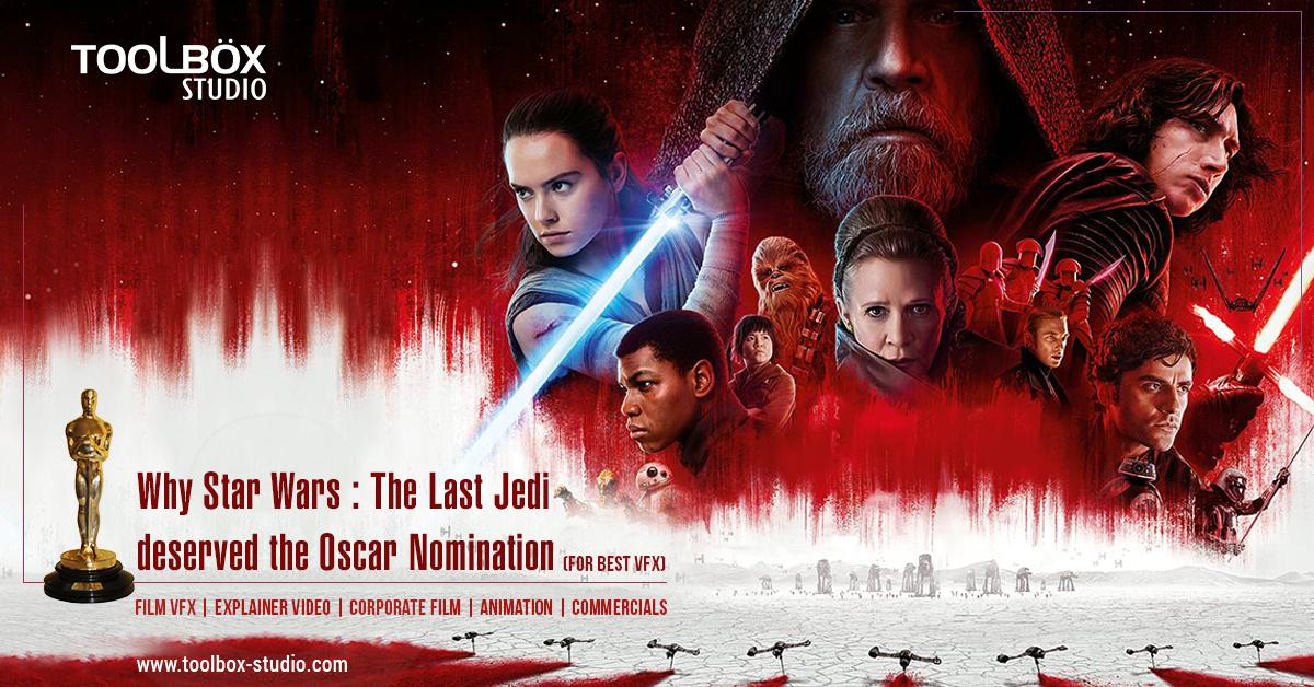 Oscar Nomination - Star Wars - The last Jedi
