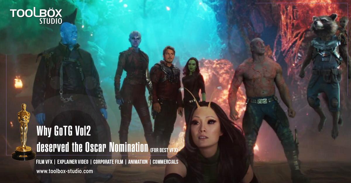 Oscar Nomination -  GOTG Vol 2