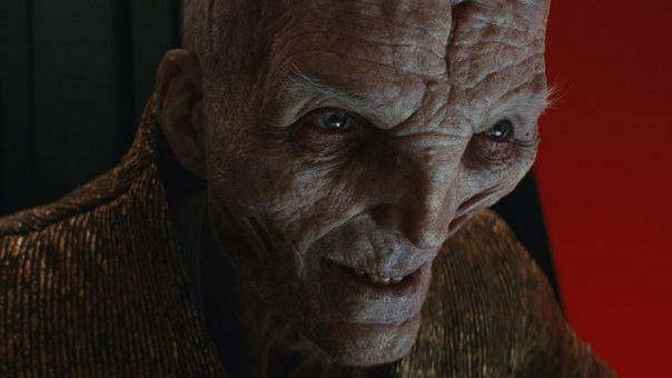 Snoke from the Last Jedi