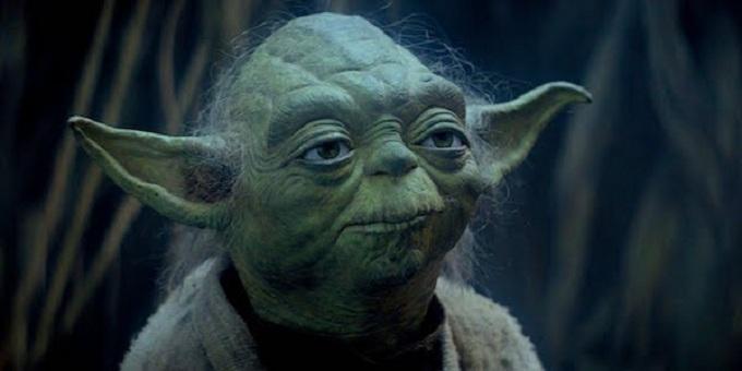 Yoda from The Last Jedi
